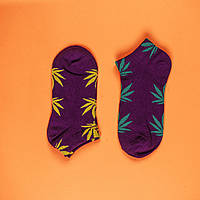 Шкарпетки HUF HUF purple & yellow