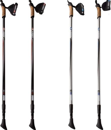 Палки для нордической ходьбы (регулируемые, алюминий) Abbey® 21SR