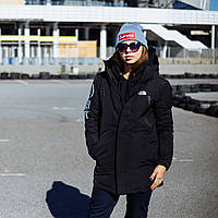 Парка The North Face black winter M