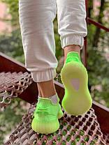 Женские кроссовки в стиле Adidas Yeezy Boost 350 V2 Clay Glov in the Dark (36, 37, 38, 39, 40 размеры), фото 3