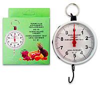 Весы бытовые кухонные ручные механические круглые (кантер), взвешивание до 10 кг, фото 1