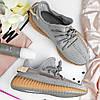 """Мужские кроссовки Adidas Yeezy 350 """"Gray Reflective"""" (в стиле Адидас ), фото 2"""