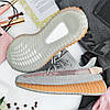 """Мужские кроссовки Adidas Yeezy 350 """"Gray Reflective"""" (в стиле Адидас ), фото 6"""