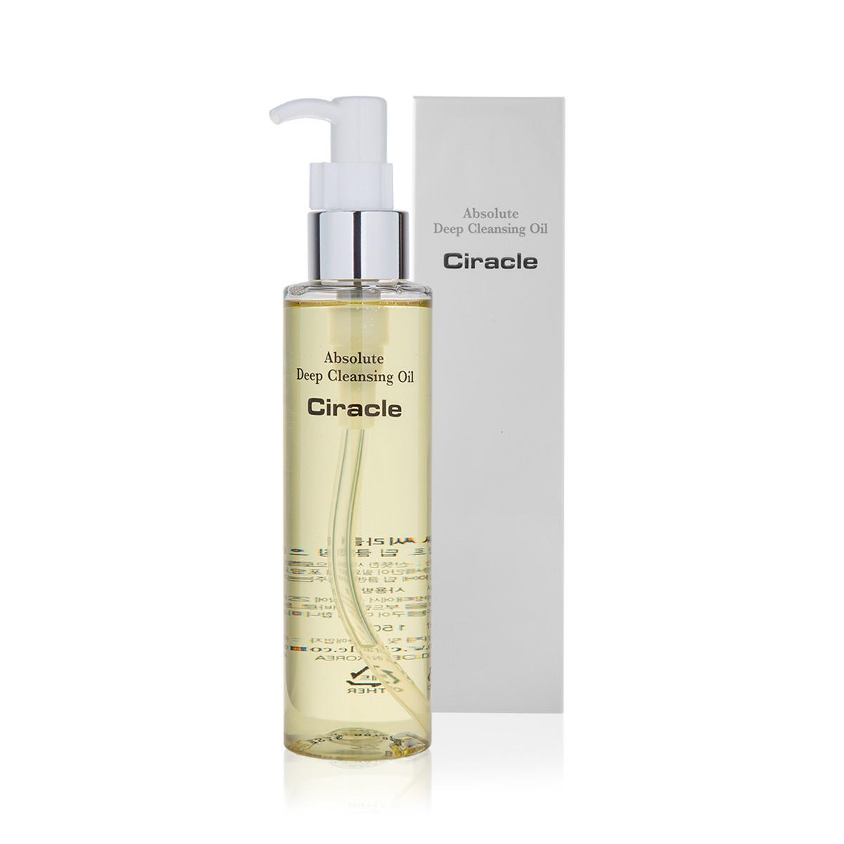 Гидрофильное масло для абсолютного очищения CIRACLE Absolute Deep Cleansing Oil, 150 мл