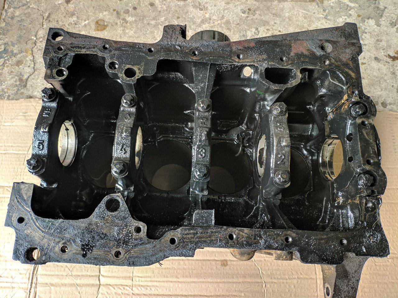 Блок цилиндров (голый) Renault Trafic, Opel Vivaro 1.9, 2001-2006, 7701478529 (Б/У)