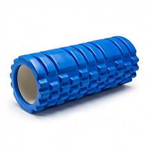 Валик для йоги, ролик массажный для спины 33х14, фото 2