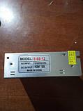 Блок питания адаптер 12V 5A S-60-12, фото 3