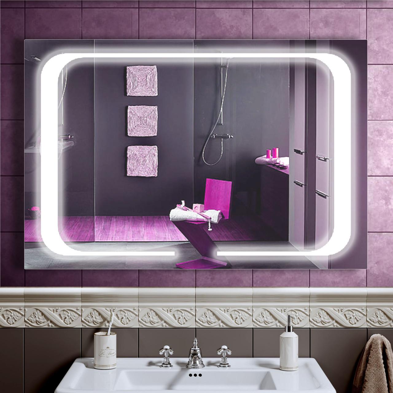 LED дзеркало зі світлодіодним підсвічуванням DV 7559-2 1200х800 мм дзеркало