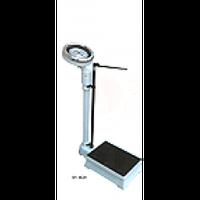Весы механические медицинские до 120 кг с телескопическим ростомером RGZ-120, Весы механические с ростомером