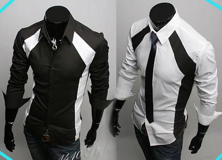 Модная рубашка мужская, фото 2