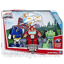 Набор ботов спасателей роботов-трансформеров Playskool Heroes Transformers Rescue Bots