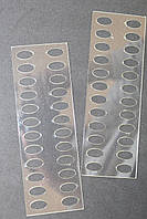 Органайзер акриловый для мулине прозрачный, 24 места. Размер общий 135*45 мм, толщина - 0,7мм