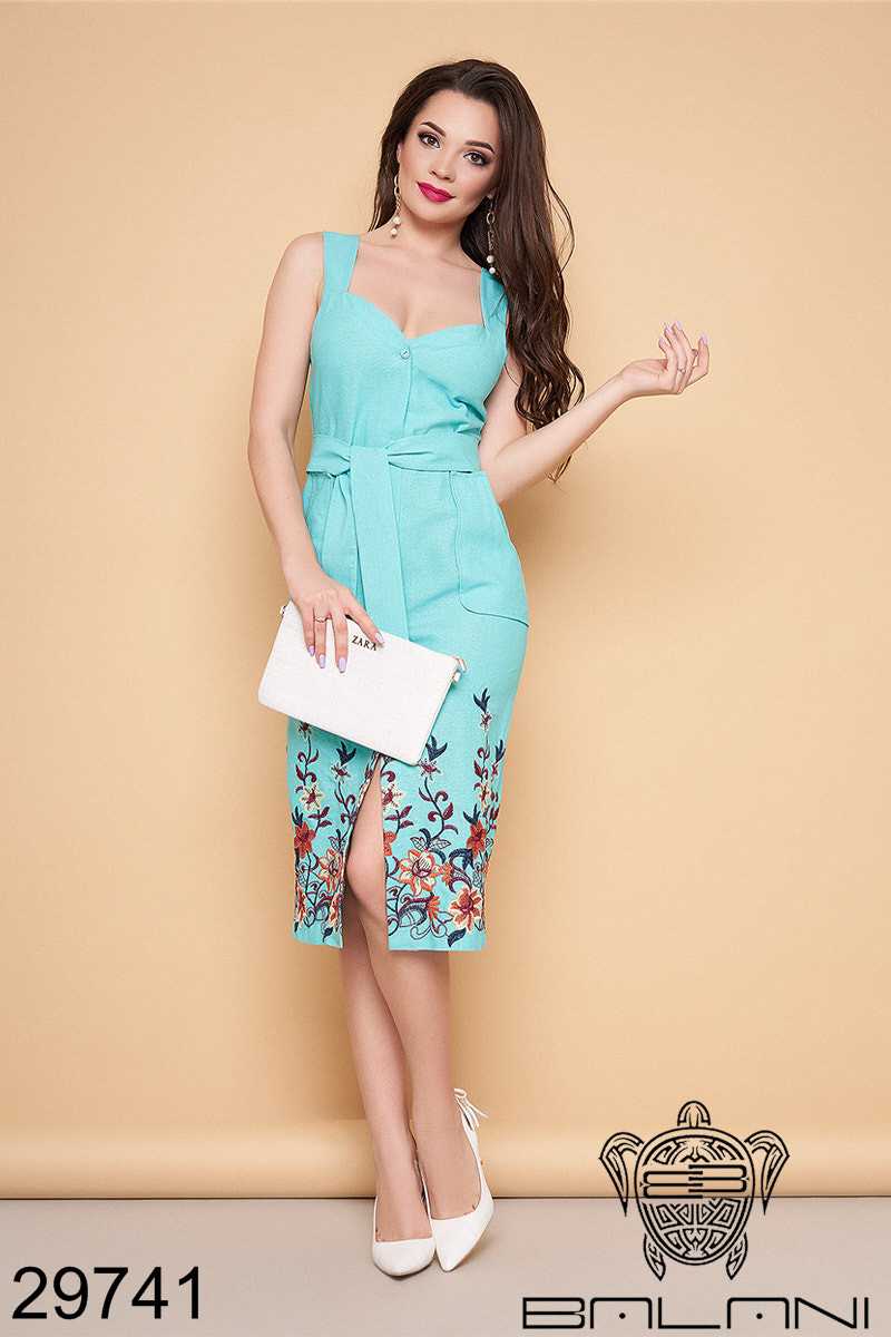 5b18054659be990 Стильное женское платье из льна 3 цвета 42,44,46,48р, цена 645 грн ...
