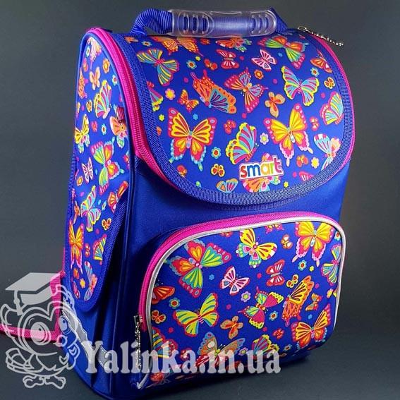 "Рюкзак школьный, каркасный PG-11 ""Butterfly dance""  Smart 555908"