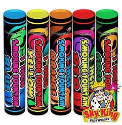 Цветной дым SMOKING mix 5 шт. MA0511 45сек