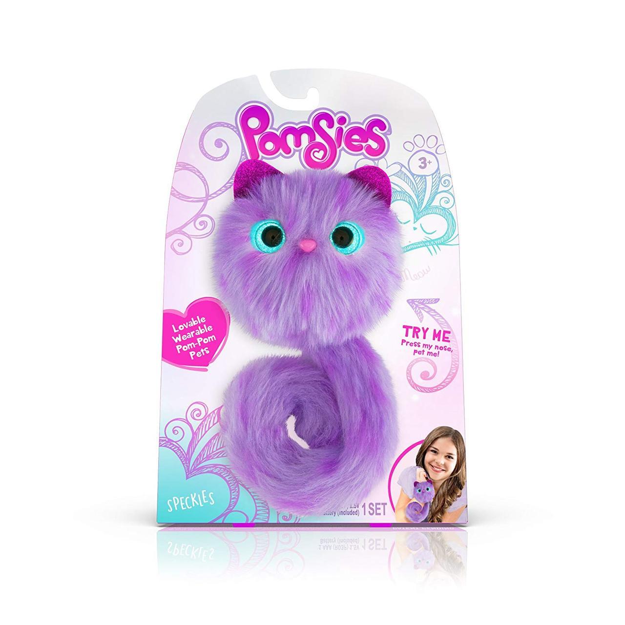 Плюшевый интерактивный котёнок Pomsies Pet Boots Помсис Спеклес