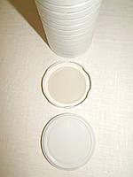 Крышка закаточная твист-офф размер 82 мм белая