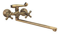 Champion Dominox Bronze  143 Кран смеситель для ванны с душем