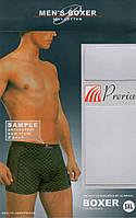 Летние мужские трусы боксеры PRERIA с лёгкой сеткой по бокам, 9627