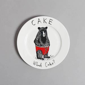 Тарелка Медведь