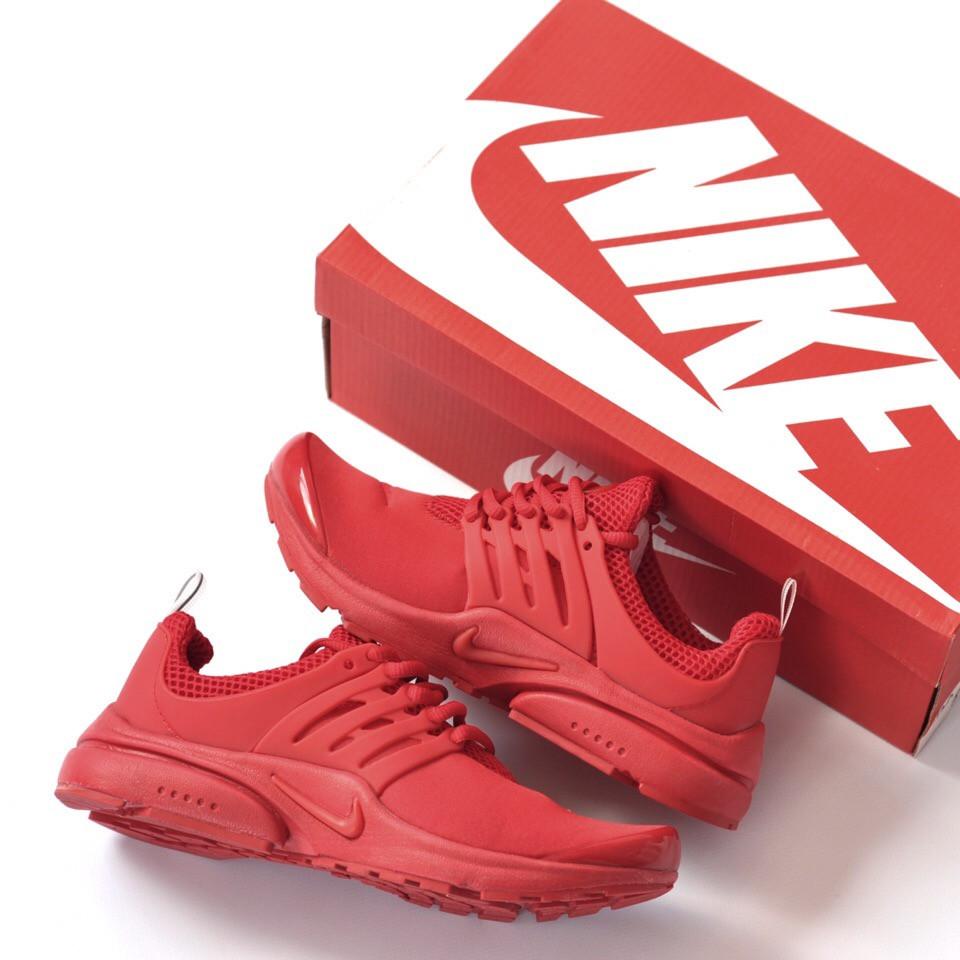 """Женские кроссовки Nike Presto""""Red""""( в стиле Найк )"""