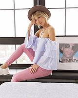 Женская блуза  с голыми плечами, фото 1
