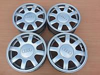 Оригинальные литые диски Audi R15 5x112 ET 45, фото 1