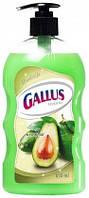 Жидкое мыло GALLUS с дозатором Авокадо, 650 мл