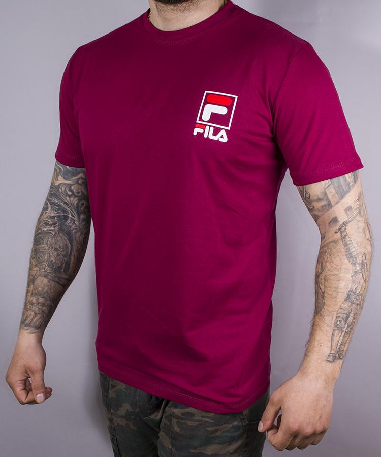 Турецкая футболка с надписью FILA