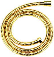 Золотий шланг для душа 150 см Bugnatese 1/2 x 3/8