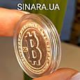 Серебряная монета Биткоин - Биткоин сувенир серебряный - Биткоин криптовалюта сувенирная монета даим. 26 мм, фото 5