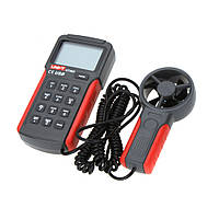 Анемометр UNI-T UT362 (1,00-30,00 м/с; 0-40ºC; 0-999900m3/min), USB, Память 2044