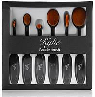 Набор  Kylie Paddle Brush из щеток для макияжа - 6 штук