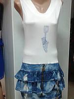 Модное летнее платье для подростков.р.44.46.