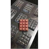 Форма пластикова C12-039 Шоколад мікро