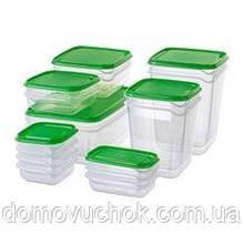 Харчовий контейнер (601.496.73)  PRUTA 17шт.