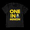 "Детская футболка ""One in a Minion"""