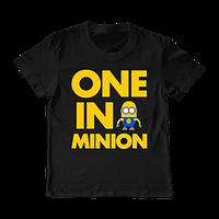 """Детская футболка """"One in a Minion"""", фото 1"""