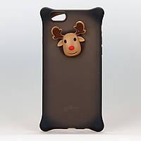 Чехол из высококачественного силикона для iPhone 6/6s Reindeer