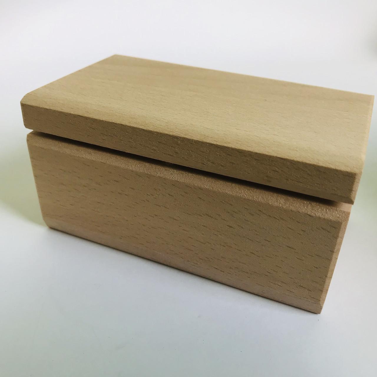 Шкатулка для декупажа дерев'яна 10*6