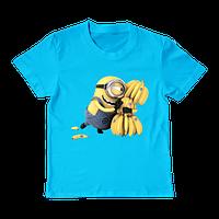 """Детская футболка """"Minions banana"""", фото 1"""