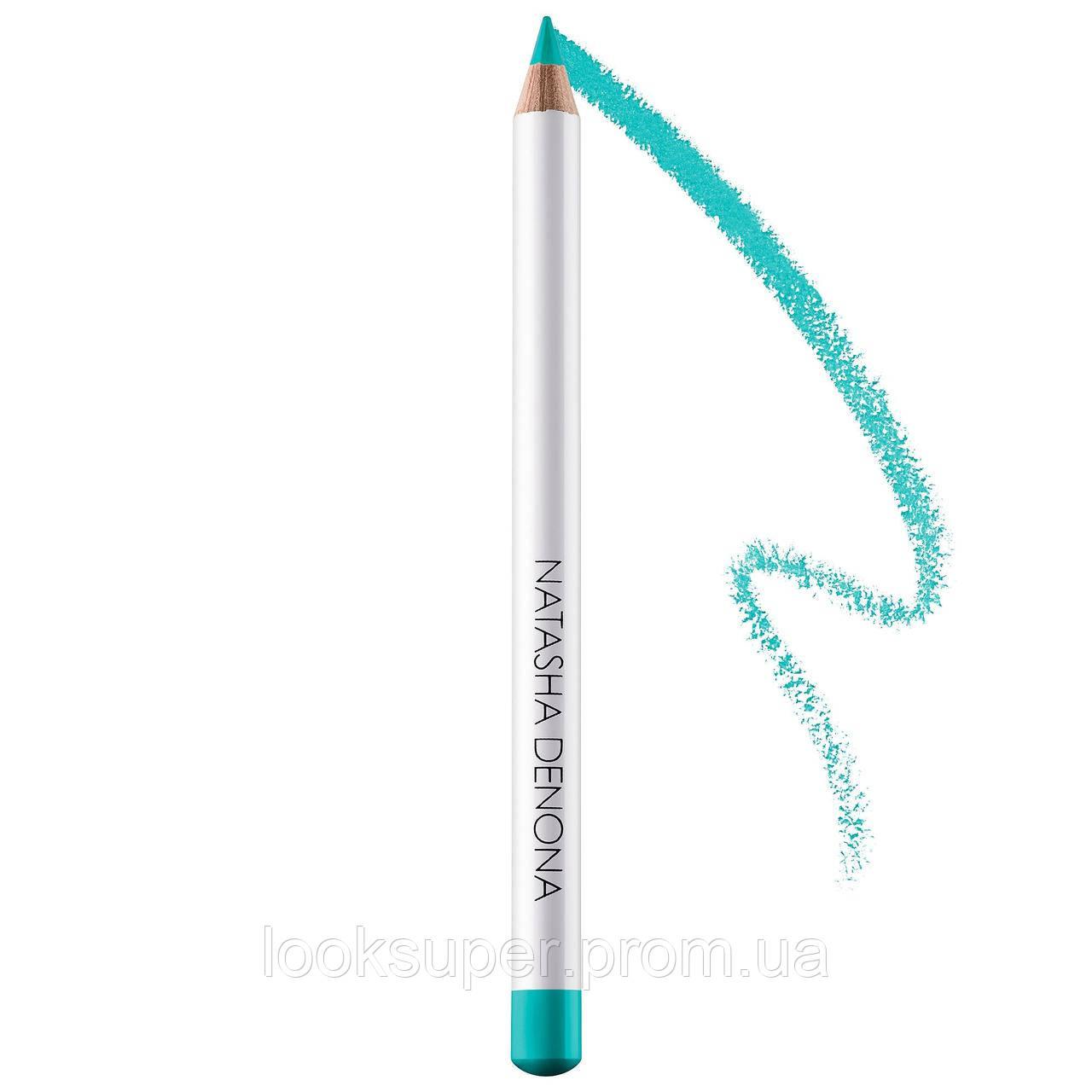 Карандаш для подводки глаз NATASHA DENONA  Eye Liner Pencil  aqua blue