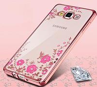 Накладка Чехол Для Samsung Galaxy J7 J710 со стразами