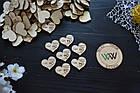 Свадебные фишки с именами и датой, бирки, презент гостям, пригласительные, валюта для конкурсов, призы., фото 2