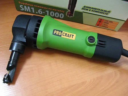 Вырубные ножницы по металлу ProCraft SM1,6-1000, фото 2