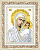 Схема для вышивки бисером венчальная Богородица Казанская