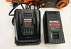Аккумуляторная цепная пила Rupez RCS-40Li С АКБ и зарядным устройством, фото 5