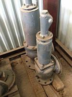 Клапаны трубопроводные различного назначения и разных производителей из различных материалов – складские остат