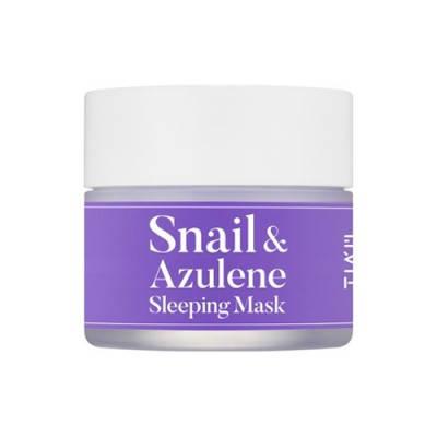 Маска ночная с экстрактом улитки и азуленом TIAM Snail & Azulene Sleeping Mask, 80 мл, фото 2
