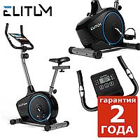 Магнитный велотренажер Elitum RX350 black до 120 кг. Гарантия 24 мес.
